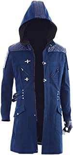 Nero Costume Cosplay Long Coat DMC5 Cosplay Nero Jacket Trench Coat for Boys