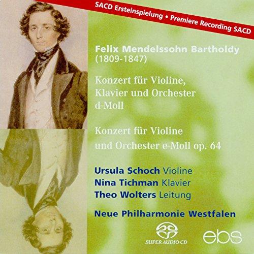 Mendelssohn: Konzert für Violine, Klavier + Orchester D-MOLL