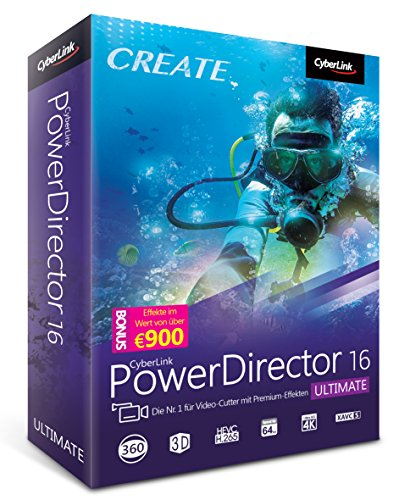 Preisvergleich Produktbild CyberLink PowerDirector 16 Ultimate