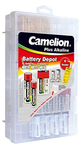 Camelion 11100029 Plus Alkaline Batterien Familien Box CM-FA-01 29 tlg.
