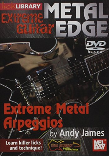 Extreme Guitar Metal Edge Extreme Metal Arpeggios DVD