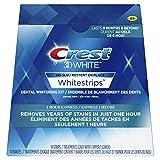 Crest 3D White Whitestrips 1 Hour Express Kit, 14 Teeth Whitening Strips, 7