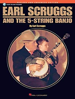 Earl Scruggs and the 5-String Banjo  Revised and Enhanced Edition - Book with online Audio