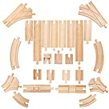 Bigjigs Rail Lot d'Extensions de Rails au Sol
