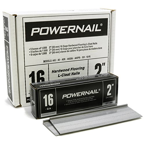 Powernail 16 Gage 2' Cleats. Box of 5,000