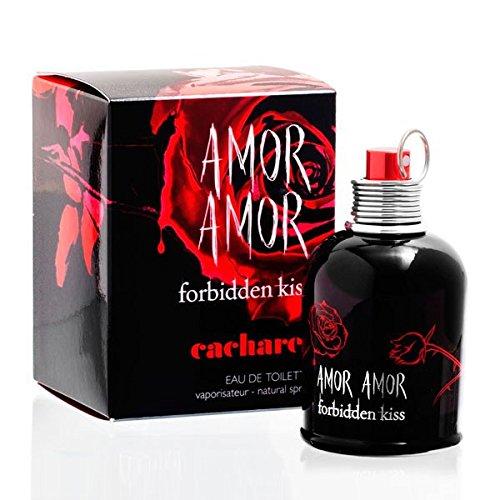 Amor Amor Forbiden Kiss EDT spray - 30mililitr/1ounce