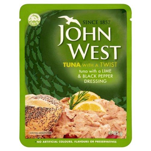 John West Thunfisch Lime & Pepper Pouch 3x85g
