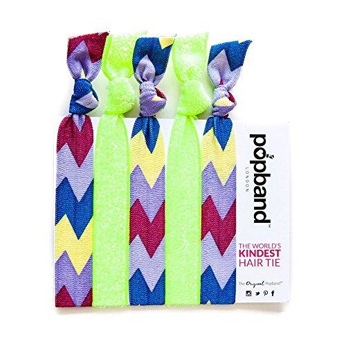 Popband Mambo - Paquet de 5 Élastiques à Cheveux Popbands