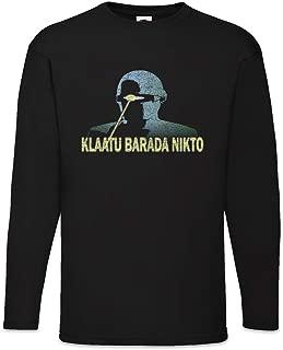 Urban Backwoods Klaatu Barada Nikto Long Sleeve T-Shirt