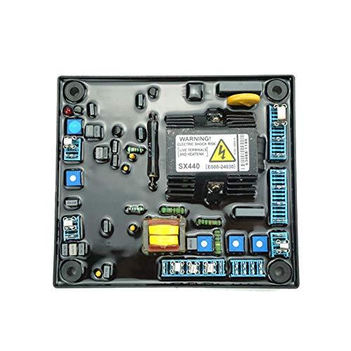 Matedepreso Voltaje Regulador Estabilizador Universal Automático Herramienta sin Escobillas Generador Accesorio Módulo Potencia Circuito Partes Hogar Profesional para SX440