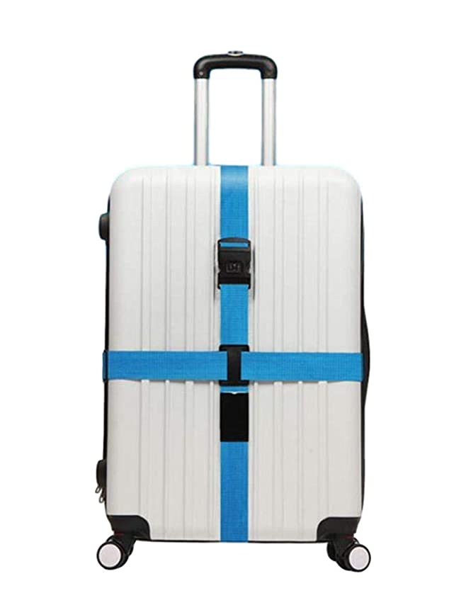 液化する逃すスポンジペパーミント スーツケースベルト 十字型 ロック搭載ベルト