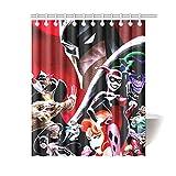Batman The Animated Series Badezimmer Wasserdicht Duschvorhang Dekor