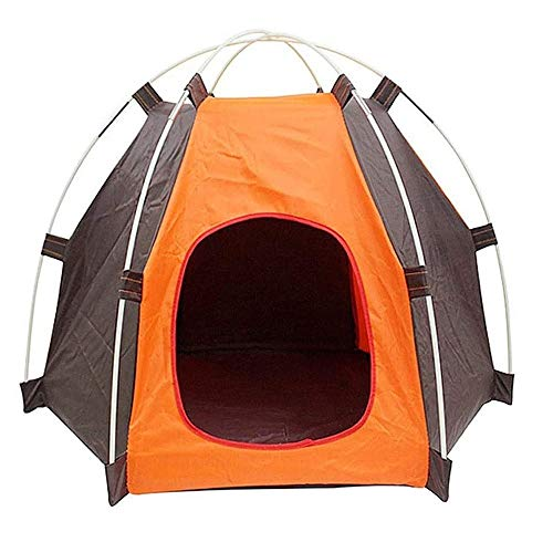 Carpas para Mascotas Portátil Plegable Impermeable Perros Gatos Cama Casa de Viaje Camping, Carpa Corral para Cachorros Perrera, Valla Portátil Patio al Aire Libre