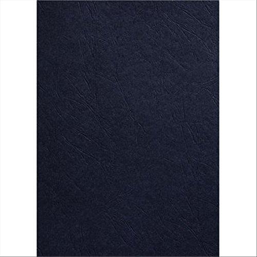 GBC Einbanddeckel LeatherGrain, DIN A3, 250 g/qm, schwarz
