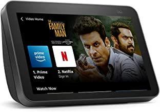 """All new Echo Show 8 (2nd Gen, 2021 release)- Smart speaker with 8"""" HD screen, 13 MP camera, stereo sound & hands-free ente..."""