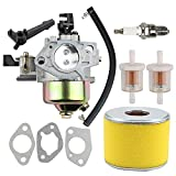 honda 13 hp pressure washer - Allong 16100-ZF6-V01 Carburetor Air Filter Fuel Filter Line for GX340 GX390 13HP 11HP Engine Motor Generator Pressure Washer
