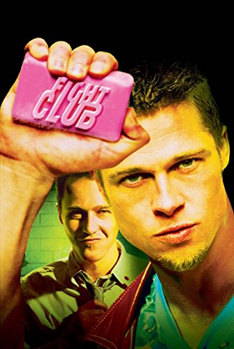 Poster Fight Club Movie 70 X 45 cm