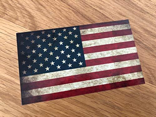 Pegatina de la bandera de Estados Unidos para tuning Performance America V8 US Mi357