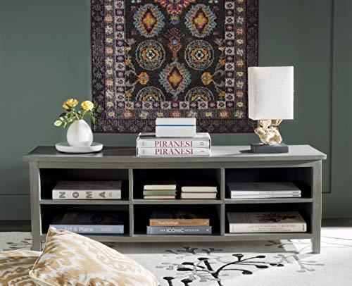 Safavieh American Homes Collection Sadie Low Bookshelf, French Grey