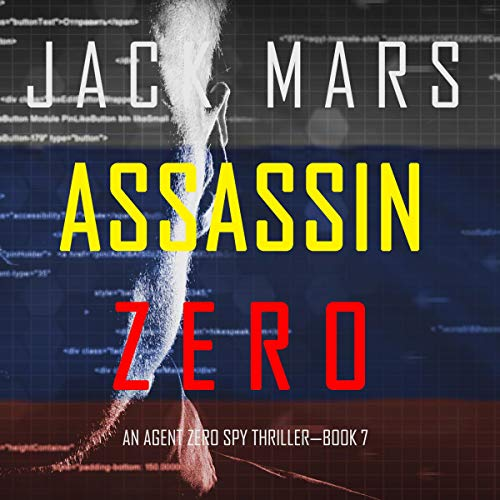 Assassin Zero audiobook cover art