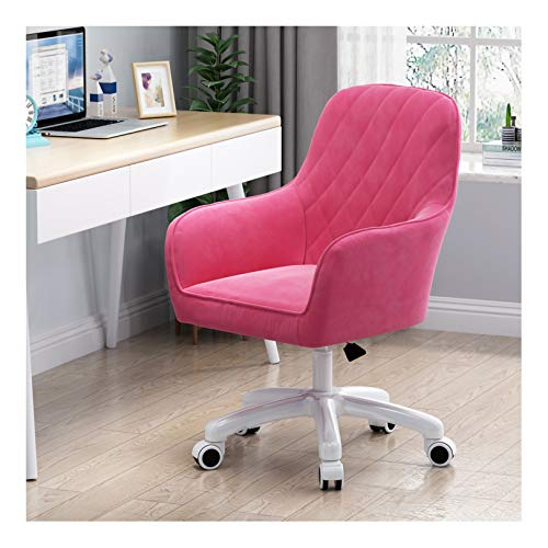 LYJBD Rolling Swivel Chair, Ergonomic Computer Chair with Adjustable Height, Comfortable Armless Desk Chair for Adults and Kids