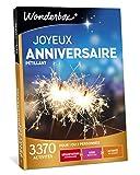 Wonderbox - Coffret cadeau anniversaire - JOYEUX ANNIVERSAIRE PETILLANT - 3370...