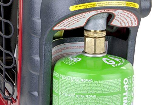 Mr. Heater Portable Buddy Gasheizung inkl. Adapter für Gaskartuschen mit 7/16-Gewinde; - 8