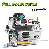Vf-Angelsport Angelkoffer Deluxe Allroundbox gefüllt 37 Teile Alles dabei