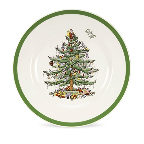 Spode Weihnachtsbaum Salatteller