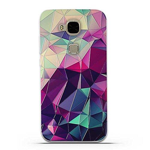 FUBAODA für Huawei G8 / G7 Plus (GX8 D199) Hülle, 3D Erleichterung Fantasie Muster TPU Hülle Schutzhülle Silikon Hülle für Huawei G8 / G7 Plus (GX8 D199)