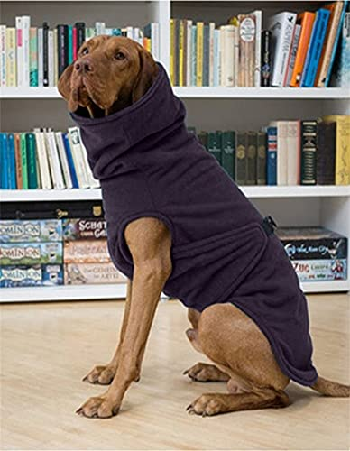 Winter Warm Fleece Dog Coat Cold Weather Cozy Pup Pets Jackets Buckles Turtle Collar Puppy Shirts...