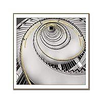 工業用装飾旋回階段キャンバス絵画壁アートポスターとプリント用リビングルームホテルhd抽象家の装飾,60×60cm