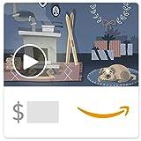 Amazon.ca eGift Card - Holiday Cabin (Animated)