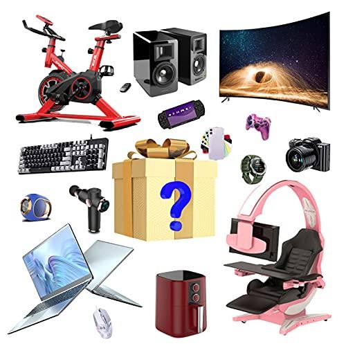 RTEY Mystery Box, Surprise Box Electronic, Lucky Gift Boxes, Varios Productos, Todo, Últimas Consolas de Juegos, Teléfonos móviles, Altavoces Bluetooth y más