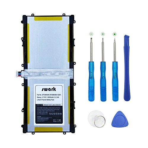 SWARK SP3496A8H - Batería compatible con Samsung Google Nexus 10 N10 Tablet PC P8110 HA32ARB SP3496A8H (1S2P) 9000 mAh