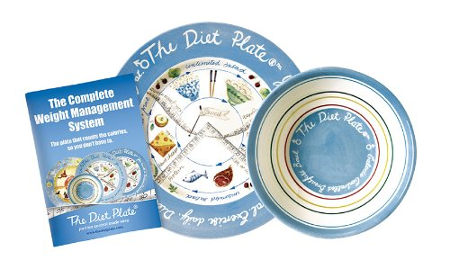 The Diet Plate Male Plate and Bowl