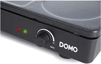 Domo - do8712w - Set mini woks, crˆpiŠre et gril 1000w noir gourmet-set