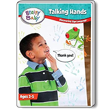 Brainy Baby Talking Hands Sign Language DVD  Discovering Sign Language Deluxe Edition