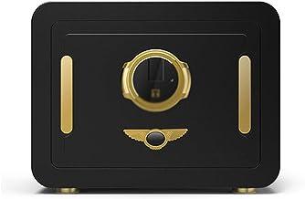 Safe Fingerprint Safe Office Hidden Mini Smart Safe Alarm Safe Home Small Safe (Color : Black, Size : 40 * 30 * 30cm)
