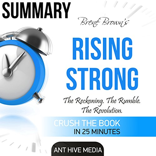 Brené Brown's Rising Strong Summary cover art
