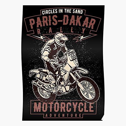 Generic Citro雗 Biker Mitsubishi Paris Dakar Custom Peugeot Motorcycle Rally Home Decor Wall Art Print Poster !! Home Decor Wall Art Print Poster !
