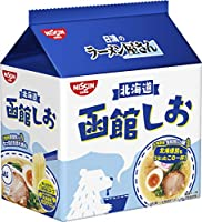 日清食品 ラーメン屋さん 函館しお 5食パック 435g×6袋