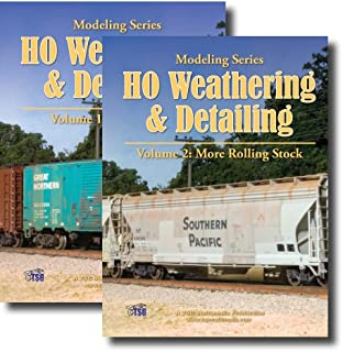 HO Weathering & Detailing Rolling Stock - 2 Volume SET [DVD] [2010]