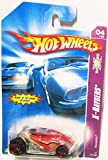 Hot Wheels X-Raycers Series #4 Vandetta #2007-72 Collectible Collector Car Mattel 1:64 Scale