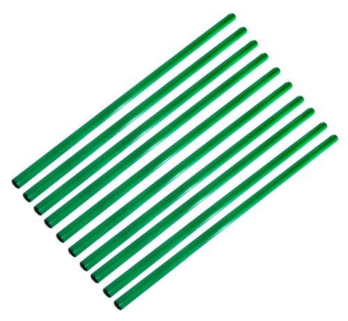 Boje Sport 10er Set Stangen 100 cm, Farbe: grün