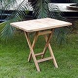 OUTLIV. Gartentisch Seattle Klapptisch 80x80 cm ECO-Teak Outdoor Tisch