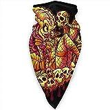Benson Masefield Predator Pinup Skull Neck Gamasche Wärmer Winddicht Gesichtsmaske Schal Outdoor Sports Mask