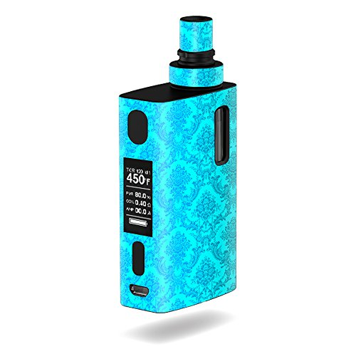 MightySkins Skin Compatible with JoyeTech eGrip 2 II – Blue Vintage | Protective, Durable, and Unique Vinyl Decal wrap Cover | Easy to Apply, Remove, and Change Styles | Made in The USA