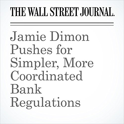 Jamie Dimon Pushes for Simpler, More Coordinated Bank Regulations copertina