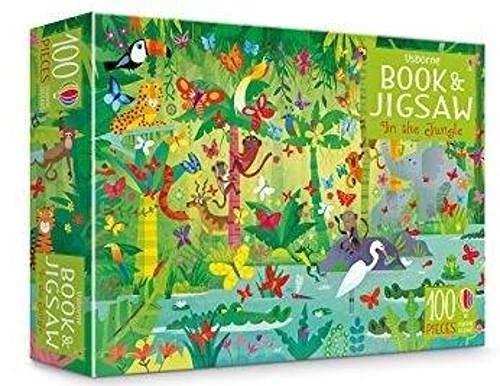 In The Jungle (Usborne Book and Jigsaw)